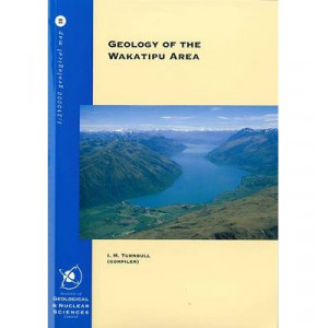 Geology of the Wakatipu Area   Book & Map