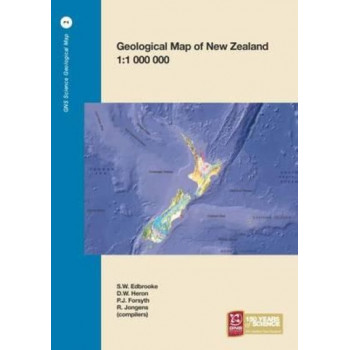 GNSGM2a Geological Map of New Zealand 1:1 000 000