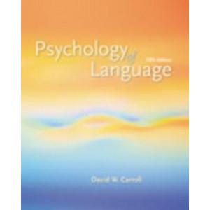 Psychology of Language 5E