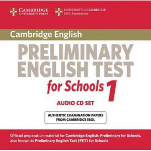 Cambridge Preliminary English Test for Schools 1 Audio CDs (2): Official Examination Papers from University of Cambridge ESOL Examinations