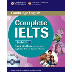 Complete IELTS Bands 4-5 Student's Book with Answers with CD-ROM