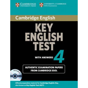 Cambridge Key English Test 4 Self Study Pack: Level 4: Cambridge Key English Test 4 Self Study Pack