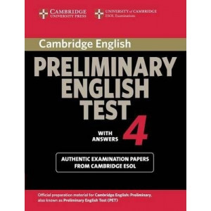Cambridge Preliminary English Test 4 Student's Book with Answers: Examination Papers from the University of Cambridge ESOL Examinations
