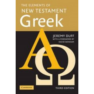 Elements of New Testament Greek  3E