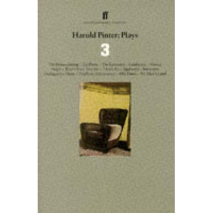"Harold Pinter: Plays 3: incl ""Landscape"""