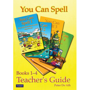 You Can Spell Books 1-4: Teacher's Guide