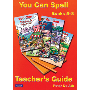 You Can Spell Books 5-8: Teacher's Guide
