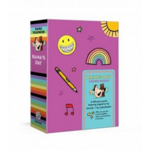Raina's Day Jigsaw Puzzle: A 450-Piece Puzzle Featuring Original Art by Raina Telgemeier: Jigsaw Puzzles for Kids