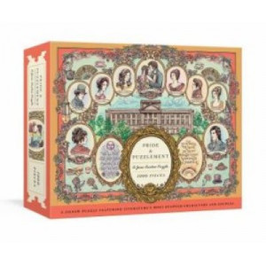 Pride and Puzzlement: A Jane Austen Puzzle:  1000-Piece Jigsaw Puzzle Featuring Literature's Most Beloved Characters and Couples: Ji