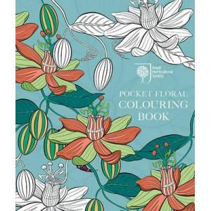 RHS Pocket Floral Colouring Book