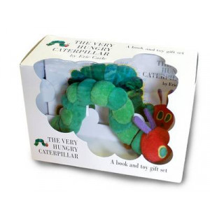 Very Hungry Caterpillar; Book and Plush Toy