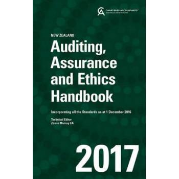 Auditing, Assurance and Ethics Handbook 2017 New Zealand