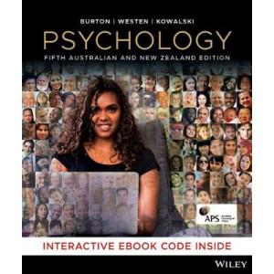 Psychology 5E Australian and New Zealand book + ebook