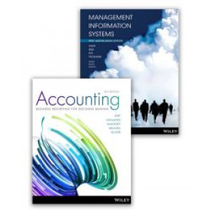 Accounting: Business Reporting for Decision Making, 6E Book + Ebook + Management Information Systems, 1E Aus Book + Ebook