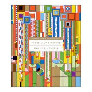 Frank Lloyd Wright Saguro Cactus & Forms 1000 Piece Jigsaw Puzzle