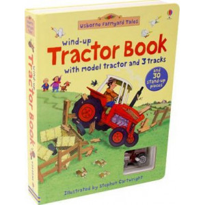 Farmyard Tales Wind-Up Tractor Book: with model tractor and 3 tracks