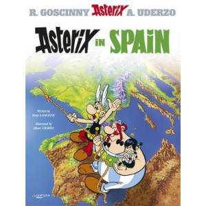Asterix in Spain   HARDCOVER EDITION