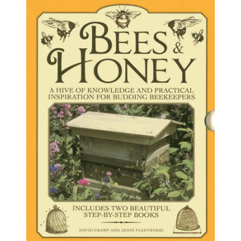 Bees & Honey: A Hive of Knowledge for Budding Beekeepers: Includes Two Beautiful Step-by-step Books