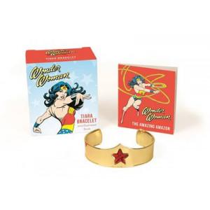 Wonder Woman Tiara Bracelet and Illustrated Book