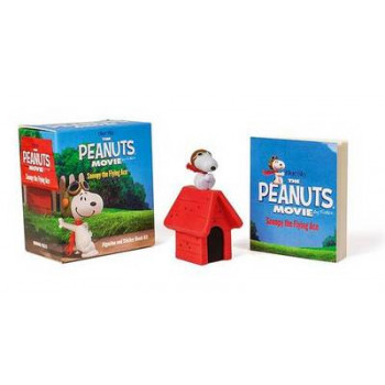 Peanuts Movie: Snoopy the Flying Ace: Figurine and Sticker Book Kit