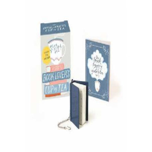 Book Lover's Cup of Tea (Miniature Edition): Includes Tea Infuser