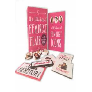 Little Box of Feminist Flair: With Pins, Patches, & Magnets