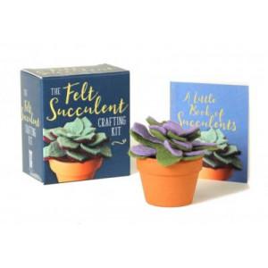 Felt Succulent Crafting Kit