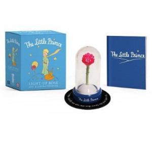 Little Prince: Light-up Rose and Illustrated Book