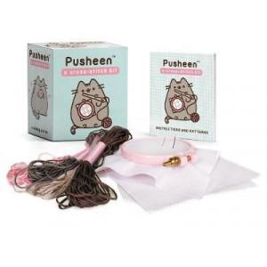 Pusheen: A Cross-Stitch Kit