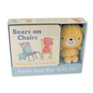 Bears on Chairs: Book and Toy Gift Set