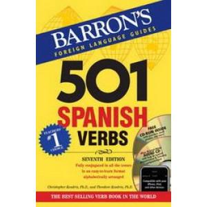 501 Spanish Verbs: 7th Ed W/CD ROM and Audio CD Pkg