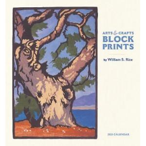 2021 Arts & Craft Block Prints Calendar