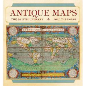2021 Antique Maps British Library Calendar