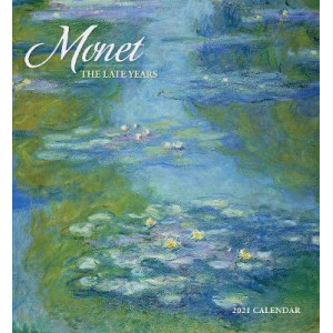 2021 Monet The Late Years Calendar