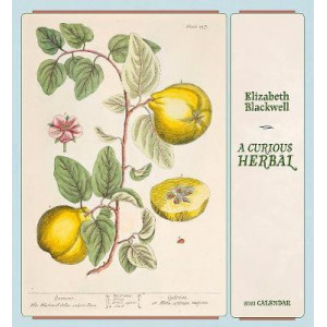 2021 Curious Herbal Elizabeth Blackwell Calendar