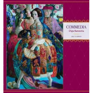 2021 Commedia: Olga Suvorova Calendar