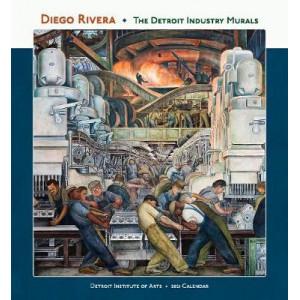 2021 Diego Rivera Detroit Industry Murals Calendar