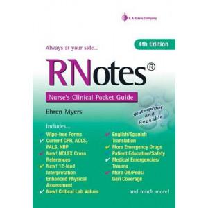 RNotes: Nurse's Clinical Pocket Guide 4E