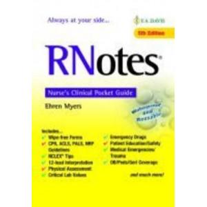 RNotes: Nurse's Clinical Pocket Guide 5E