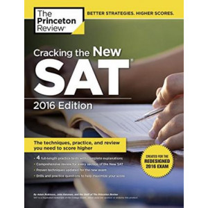 Cracking the New SAT with 4 Practice Tests: Created for the Redesigned 2016 Exam