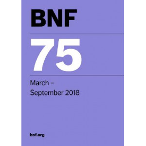BNF 75 (British National Formulary) March 2018