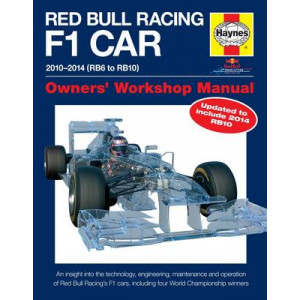 Red Bull Racing F1 Car Manual: 2010-2014 (RB6 to RB10)