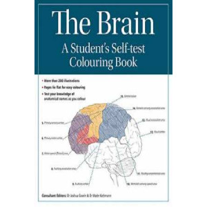 Brain A Students Self Test Colouring Book