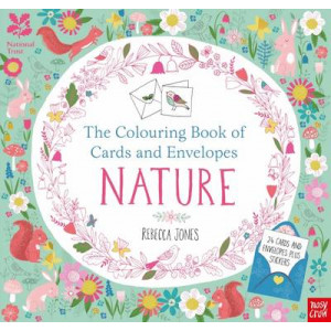 National Trust: Colouring Book of Cards and Envelopes: Nature
