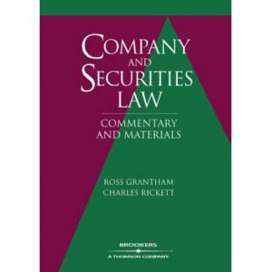 Company & Securities Law   Commentary & Materials