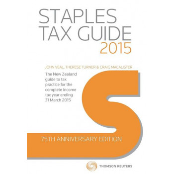 Staples Tax Guide 2015