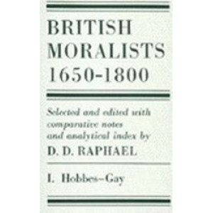 British Moralists : 1650-1800 (2 volume set)