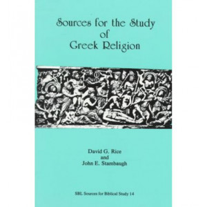 Sources for the Study of Greek Religion (Corrected Edition, 2009)
