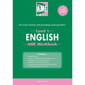 AME NCEA Level 1 English Workbook: 2015