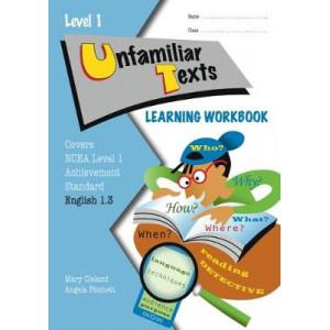 NCEA L1 Unfamiliar Texts AS1.3